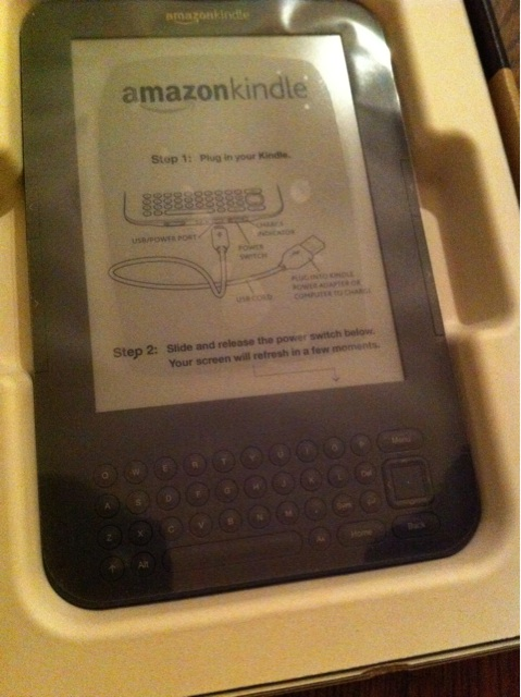 kindle3 開封した